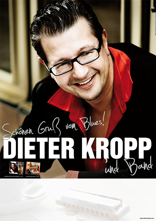 Dieter Kropp Poster A3 Download